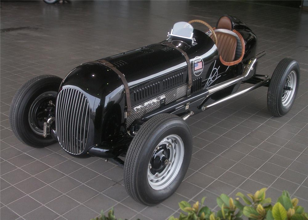 1937 FORD MONOPOSTO RACECAR RE-CREATION - Front 3/4 - 61244