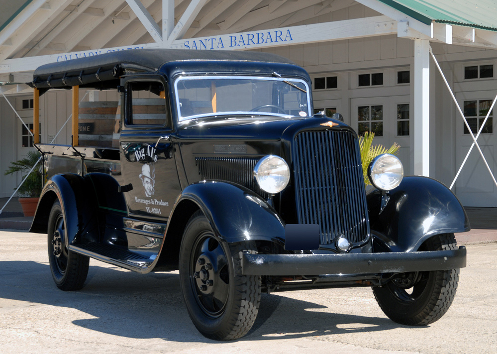 1934 DODGE K20 CANOPY EXPRESS TRUCK - Front 3/4 - 61249