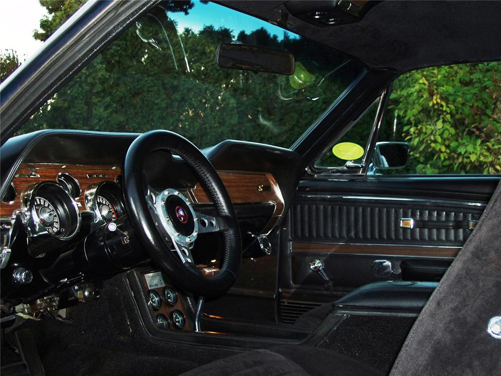 1968 SHELBY GT500 KR CUSTOM FASTBACK - Interior - 61253
