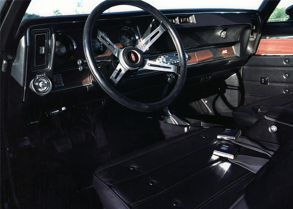 1971 OLDSMOBILE 442 2 DOOR HARDTOP - Interior - 61255