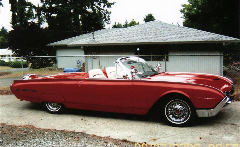 1962 ford thunderbird convertible 61287. Cars Review. Best American Auto & Cars Review