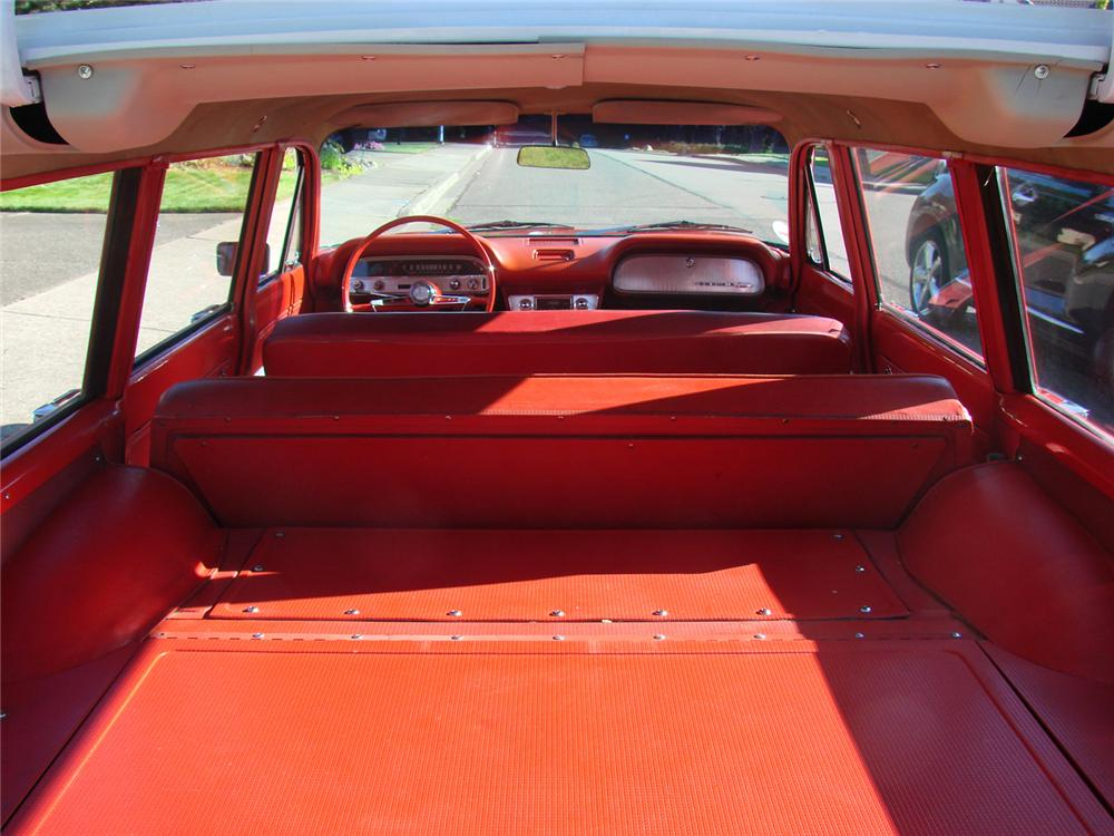 1961 CHEVROLET CORVAIR 4 DOOR STATION WAGON - Interior - 61289