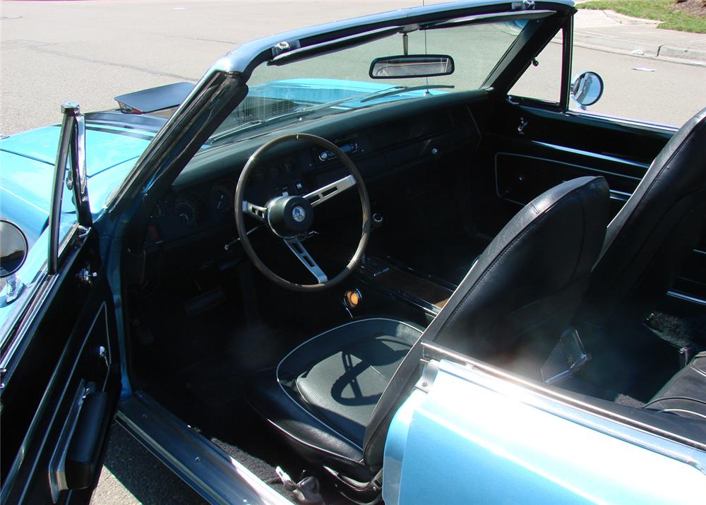 1970 PLYMOUTH ROAD RUNNER CONVERTIBLE - Interior - 61290