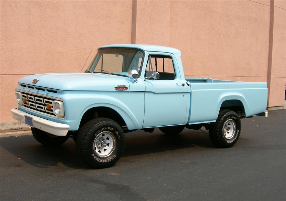 1964 FORD 4X4 PICKUP - Front 3/4 - 61308