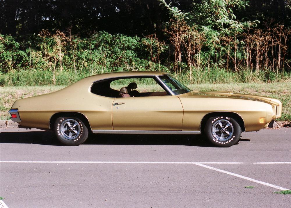 1970 PONTIAC GTO 2 DOOR HARDTOP - Side Profile - 61318