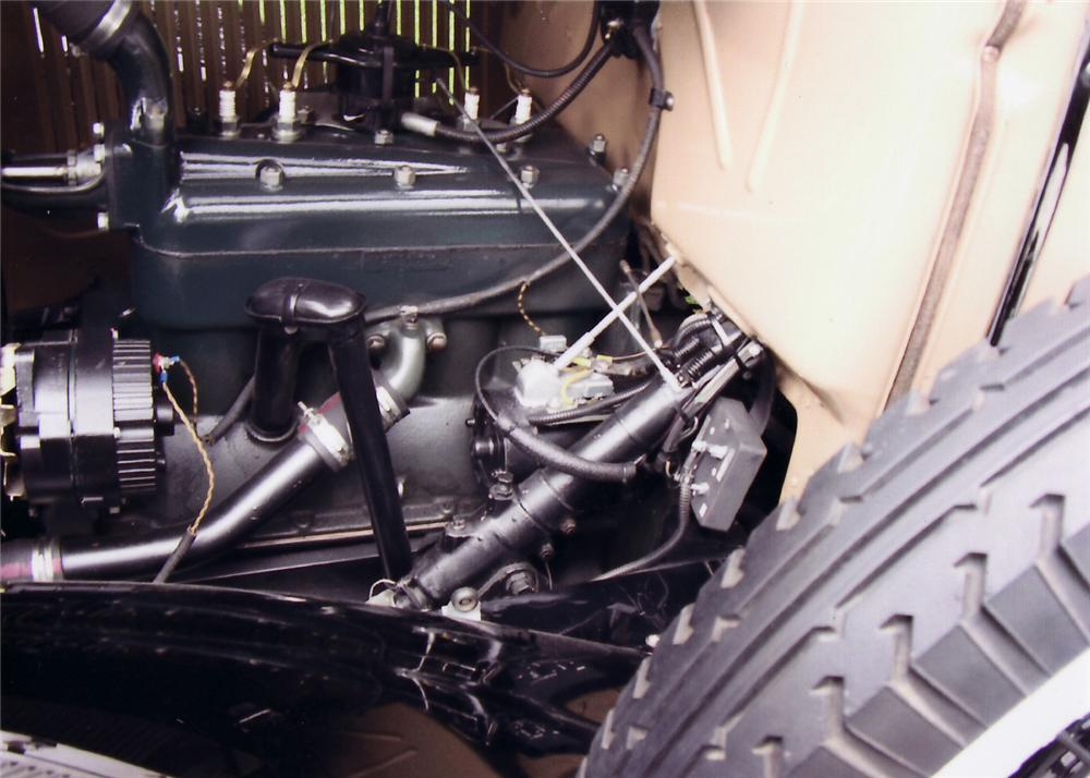 1930 FORD MODEL A STATION WAGON - Engine - 61335
