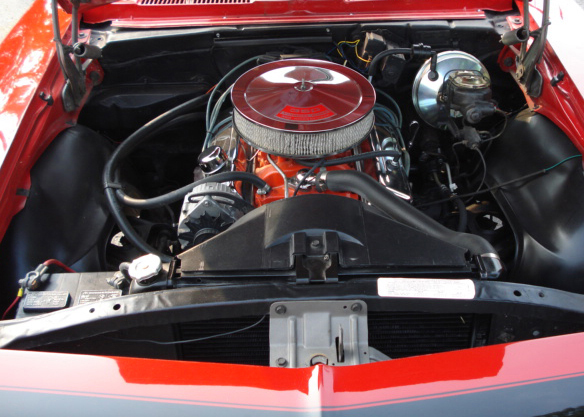 1968 CHEVROLET CAMARO SS CONVERTIBLE - Engine - 61337