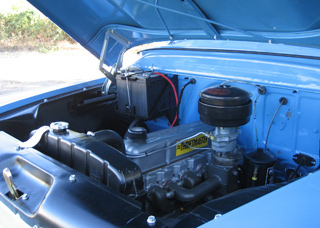 1959 CHEVROLET 3100 DELUXE PICKUP - Engine - 61338
