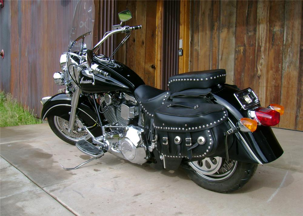 2000 INDIAN CHIEF MOTORCYCLE - Rear 3/4 - 61340