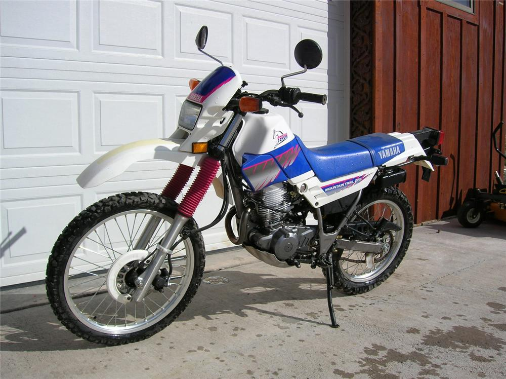 1992 yamaha dirt bike motorcycle 61343 for Yamaha mini dirt bikes