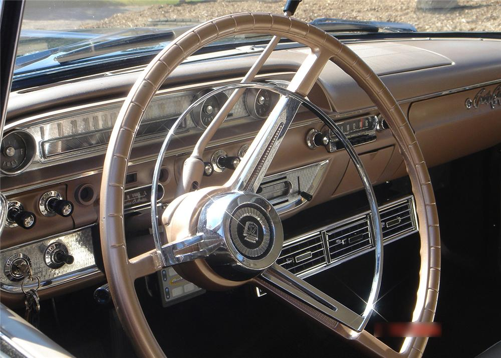 1962 FORD COUNTRY SQUIRE CUSTOM WAGON - Interior - 61345