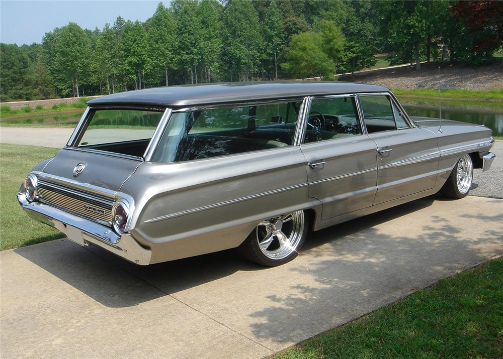 1964 FORD COUNTRY SEDAN CUSTOM STATION WAGON - 61346