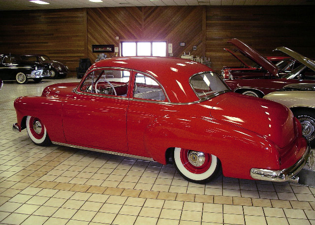 1950 CHEVROLET CUSTOM COUPE - Rear 3/4 - 61347