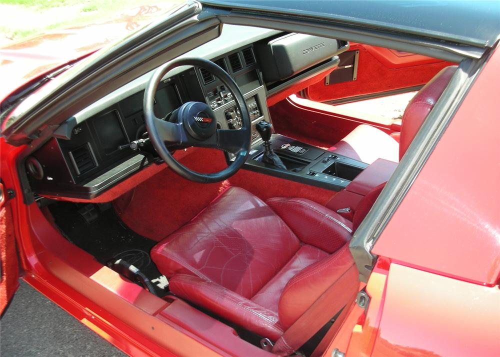 1985 chevrolet corvette coupe 61362. Black Bedroom Furniture Sets. Home Design Ideas