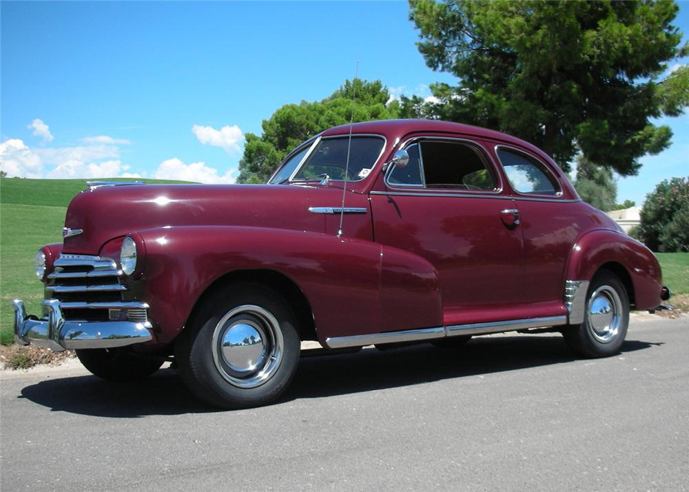 1947 chevrolet fleetmaster 2 door coupe 61363
