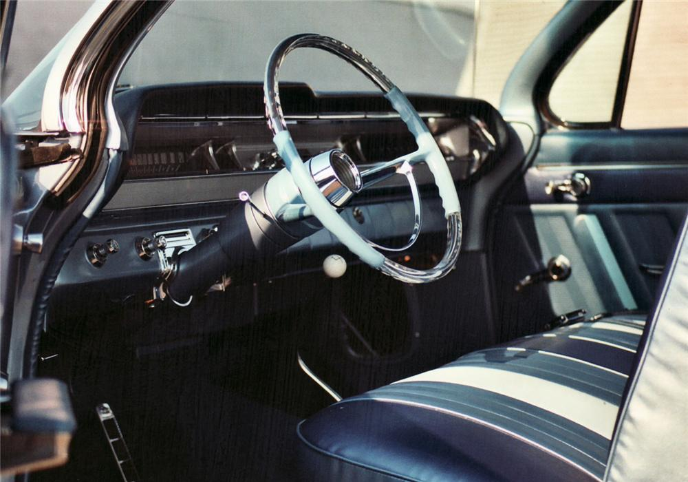 1962 PONTIAC CATALINA 2 DOOR HARDTOP - Interior - 61370
