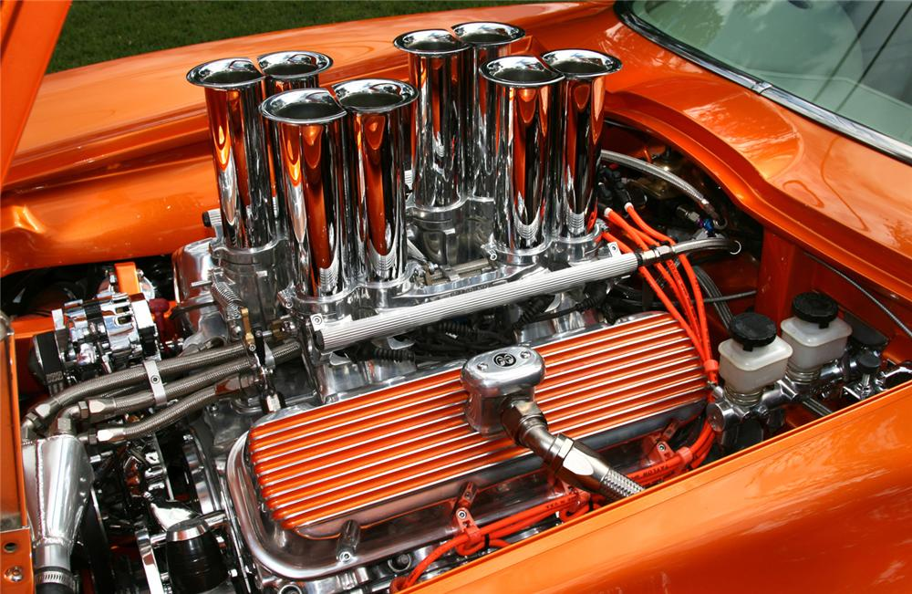 1966 CHEVROLET CORVETTE CUSTOM COUPE - Engine - 61372