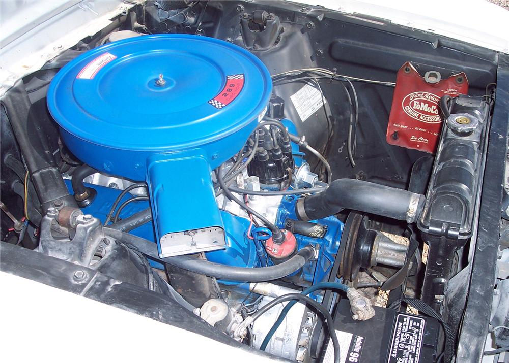 1966 FORD MUSTANG GT COUPE - Engine - 61381