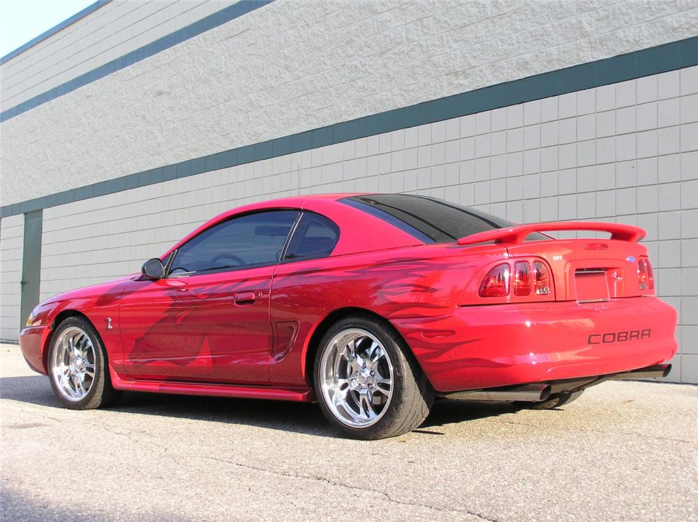 1997 FORD MUSTANG COBRA SVT 2 DOOR HARDTOP - 61382