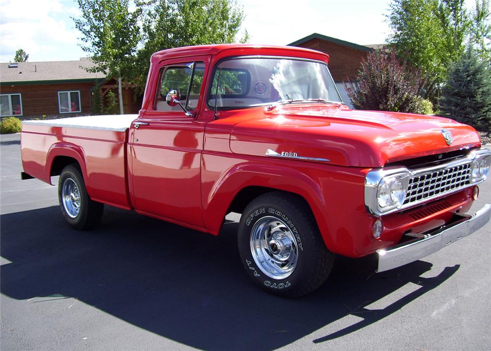 1958 FORD PICKUP - Front 3/4 - 61399