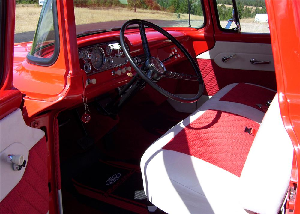 1958 FORD PICKUP - Interior - 61399