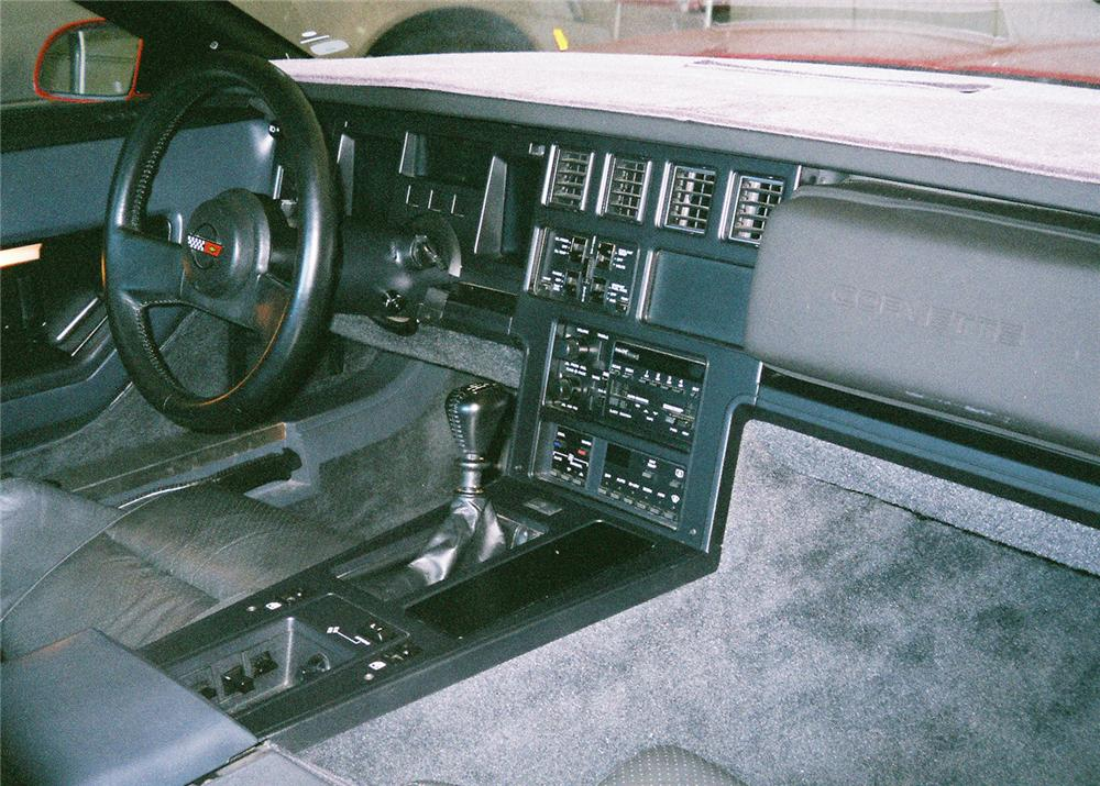 1987 CHEVROLET CORVETTE COUPE - Interior - 61403