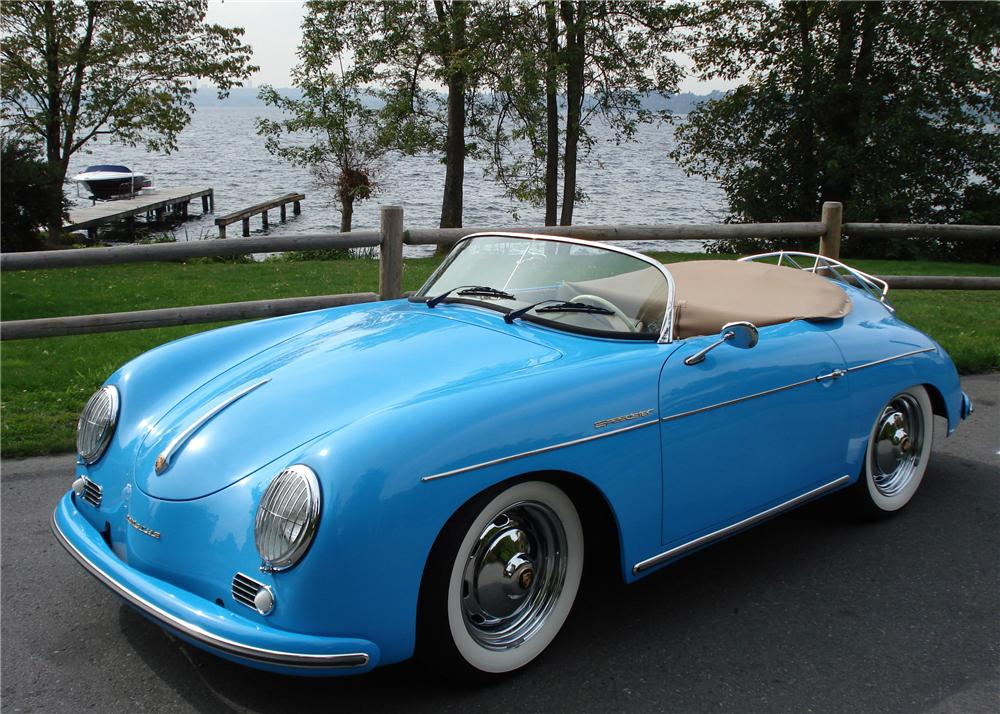 1957 PORSCHE SPEEDSTER RE-CREATION - Front 3/4 - 61417