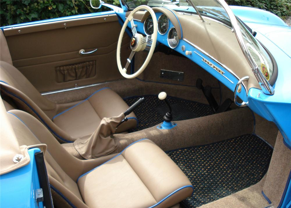 1957 PORSCHE SPEEDSTER RE-CREATION - Interior - 61417