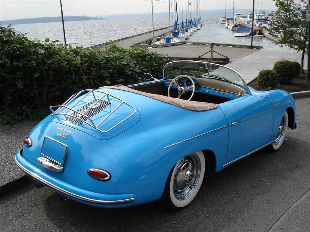 1957 PORSCHE SPEEDSTER RE-CREATION - Rear 3/4 - 61417