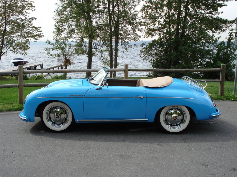 1957 PORSCHE SPEEDSTER RE-CREATION - Side Profile - 61417