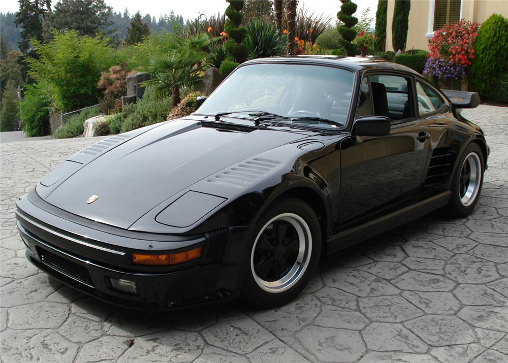 1987 PORSCHE 930 TURBO SLANT NOSE - Front 3/4 - 61419