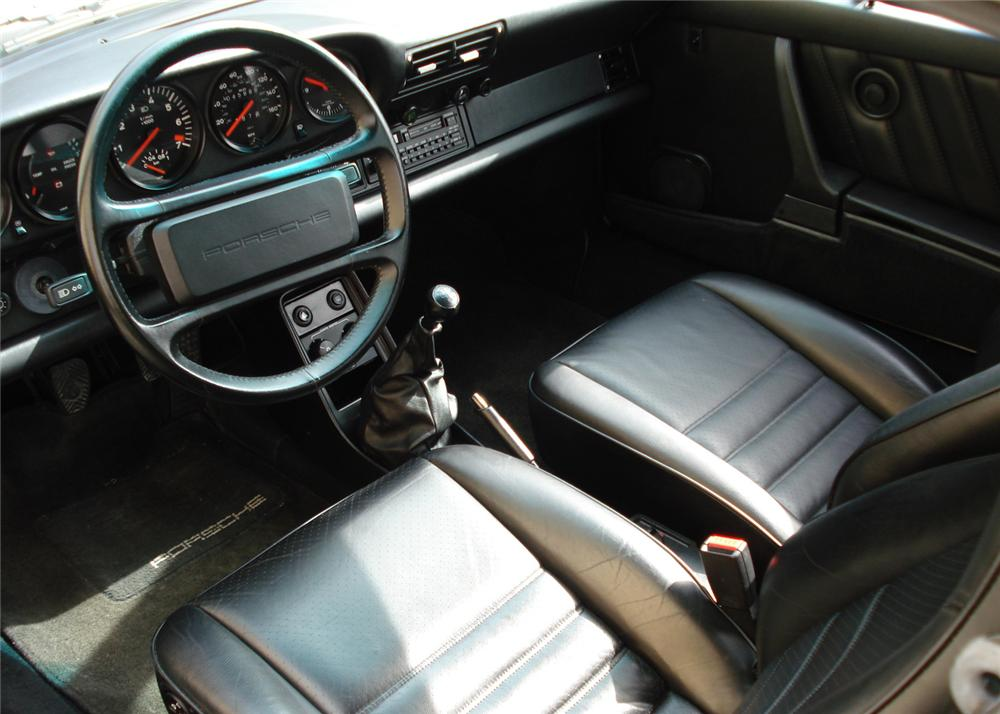 1987 PORSCHE 930 TURBO SLANT NOSE - Interior - 61419