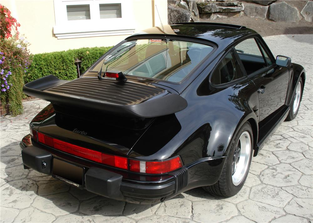 1987 PORSCHE 930 TURBO SLANT NOSE - Rear 3/4 - 61419