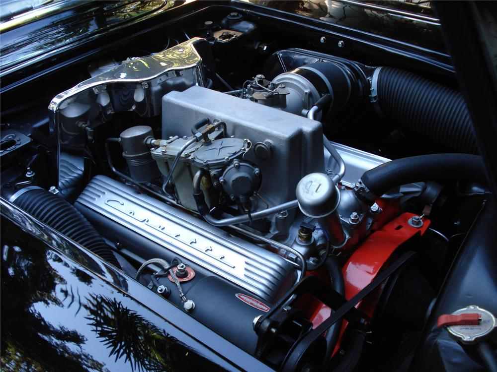 1960 CHEVROLET CORVETTE CONVERTIBLE - Engine - 61428