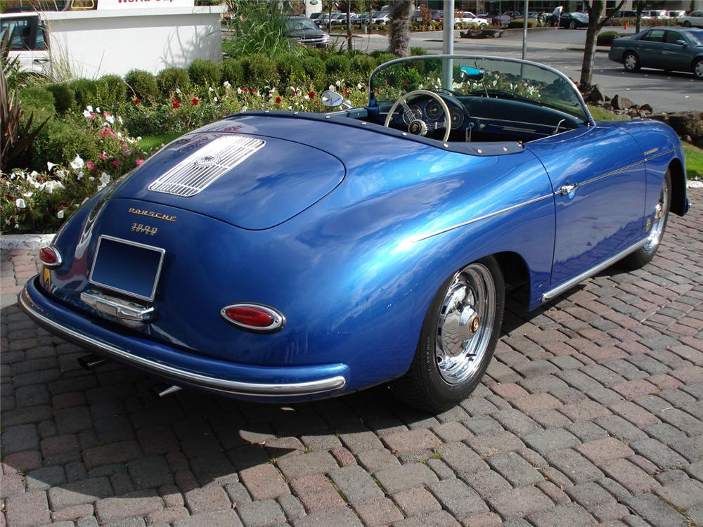 1957 PORSCHE SPEEDSTER RE-CREATION - Rear 3/4 - 61432