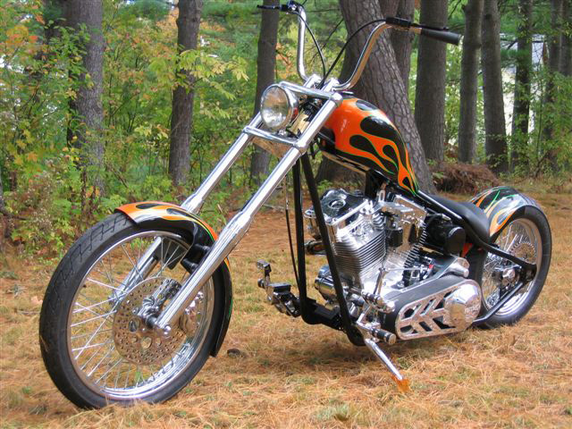 2007 MOTORCYCLE CUSTOM   - Front 3/4 - 61441
