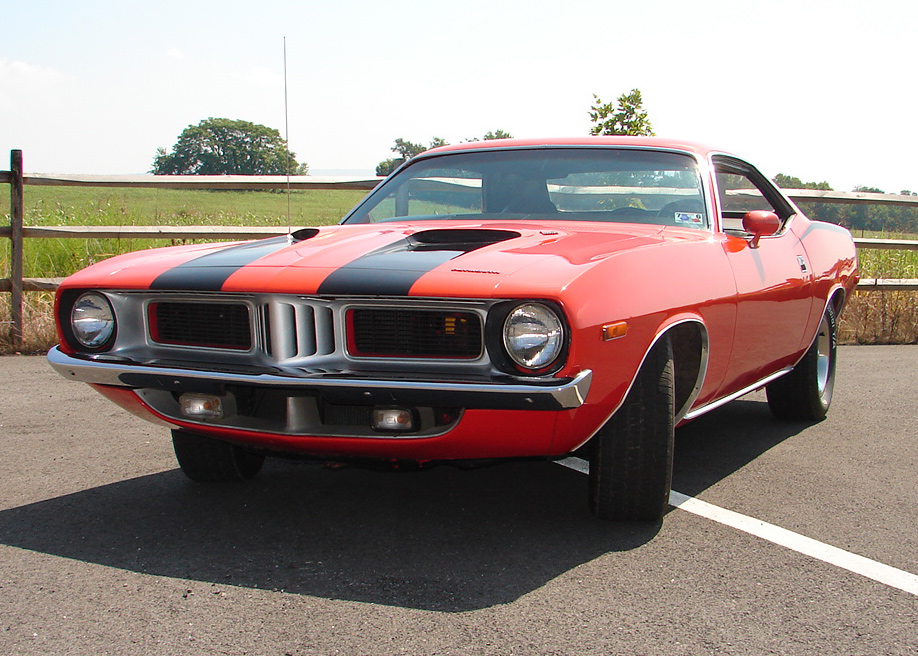 1972 PLYMOUTH BARRACUDA 2 DOOR COUPE - Front 3/4 - 61448