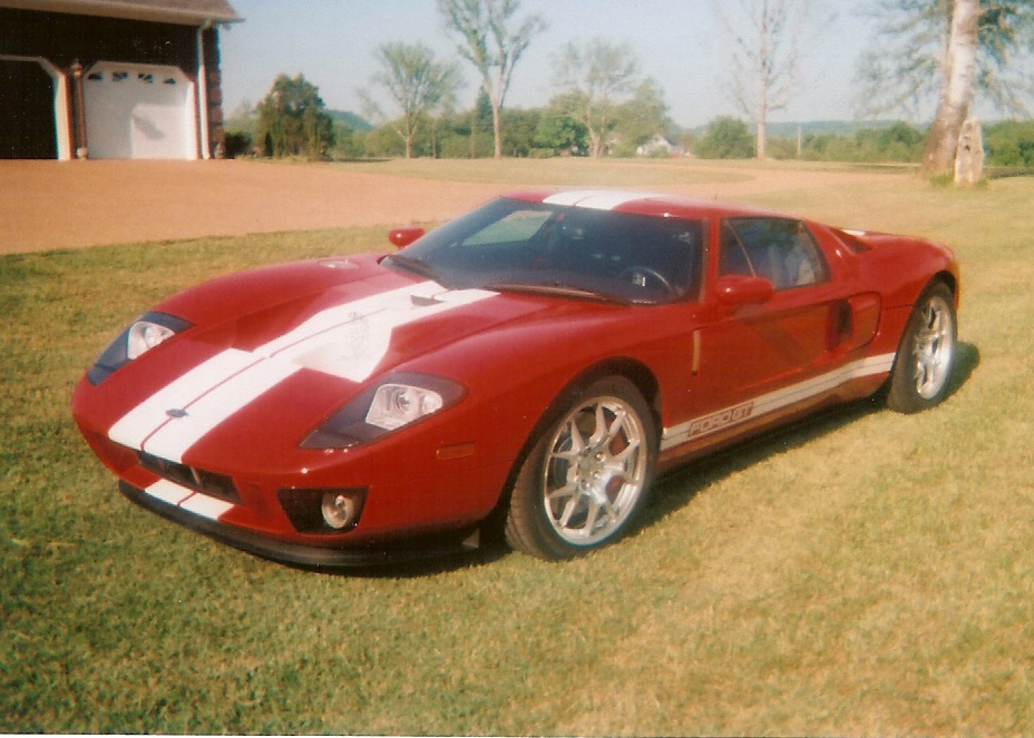 2005 FORD GT COUPE - Front 3/4 - 61449