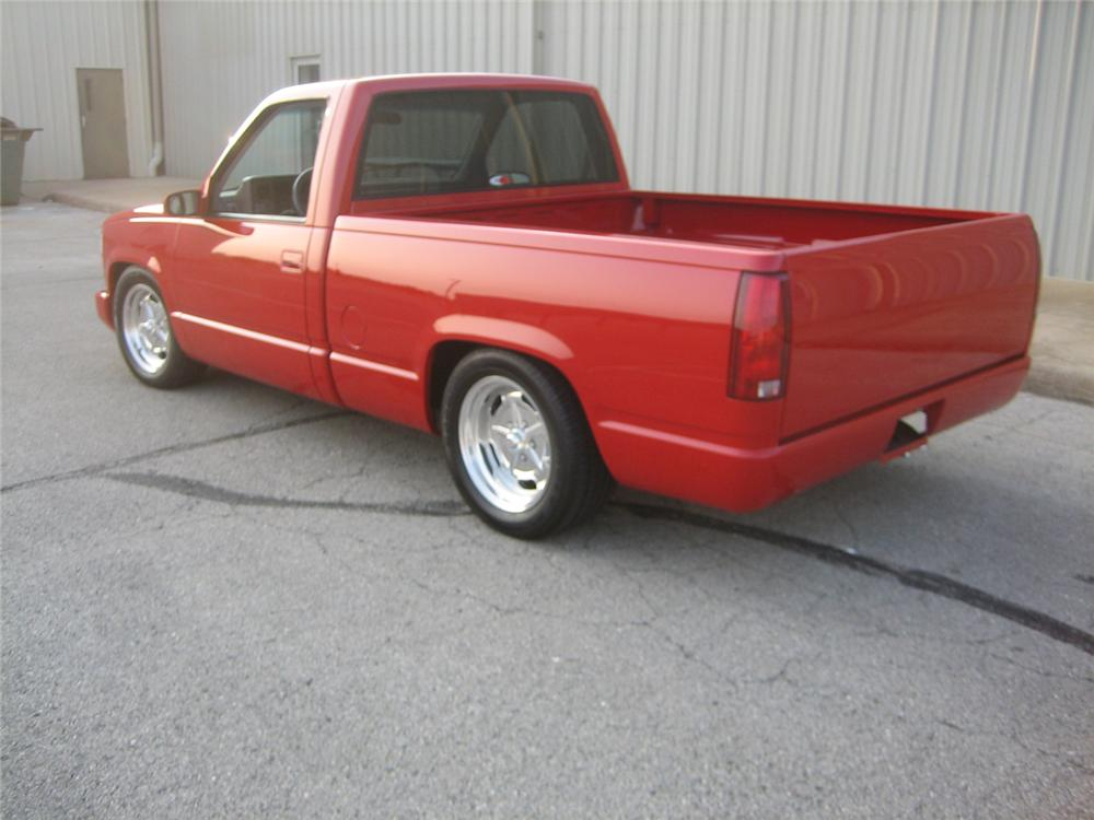 1992 CHEVROLET 454SS CUSTOM PICKUP - Rear 3/4 - 61452