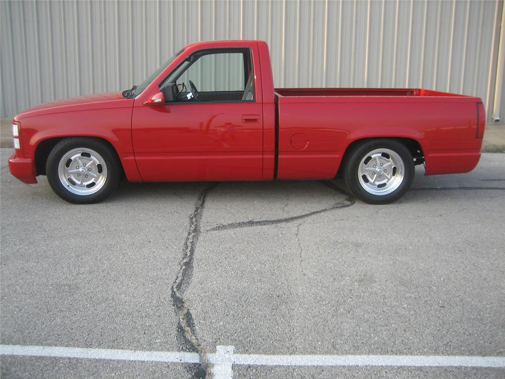 1992 CHEVROLET 454SS CUSTOM PICKUP - Side Profile - 61452