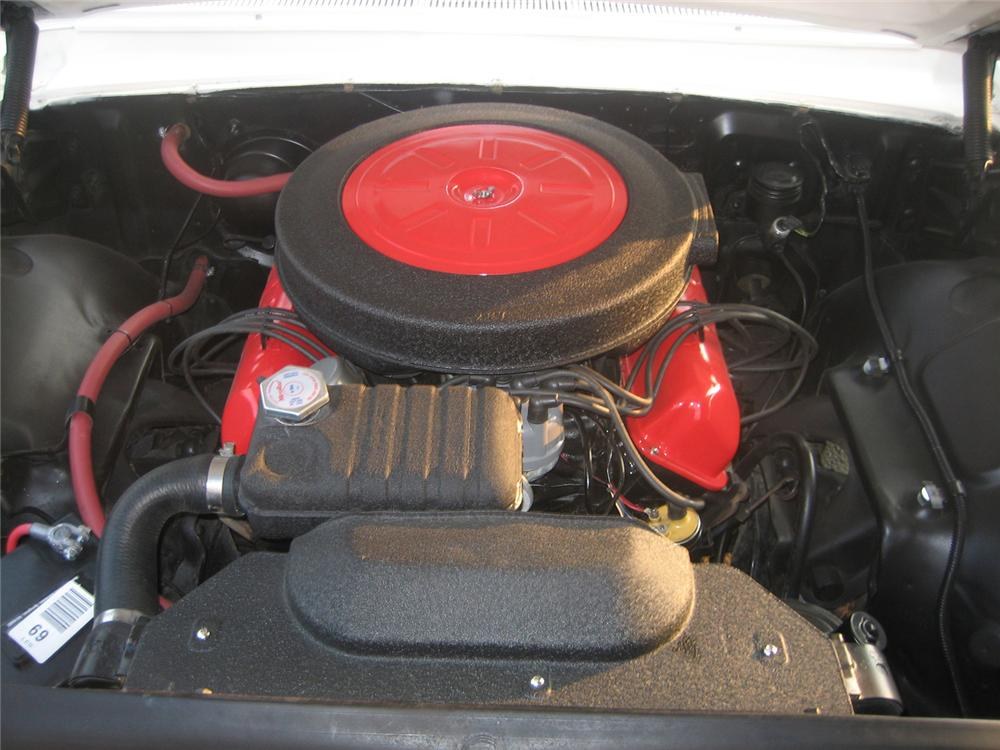 1962 FORD SUNLINER CONVERTIBLE - Engine - 61453