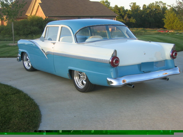 1956 ford fairlane 2 door sedan 61454 for 1956 ford customline 2 door hardtop