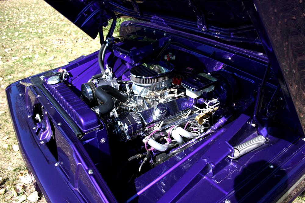 1966 CHEVROLET C-10 CUSTOM PICKUP - Engine - 61462
