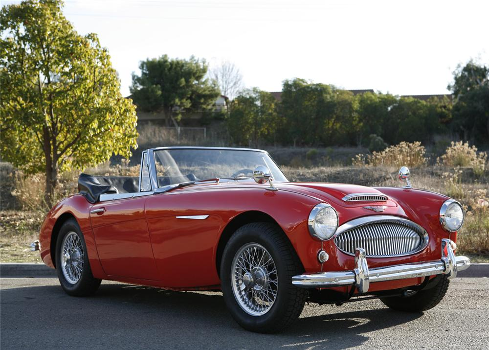 1963 AUSTIN-HEALEY 3000 MARK II BJ7 ROADSTER - Front 3/4 - 61465