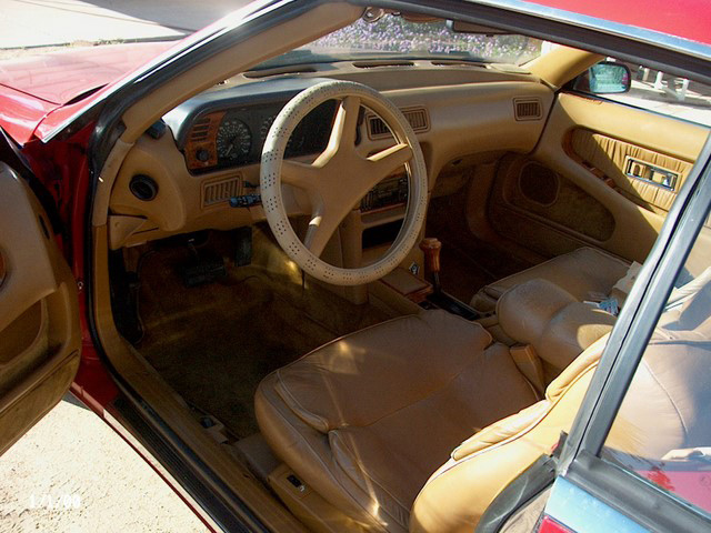 1989 CHRYSLER MASERATI TC CONVERTIBLE - Interior - 61467