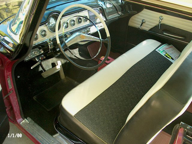 1955 DODGE CUSTOM ROYAL LANCER 2 DOOR HARDTOP - Interior - 61468