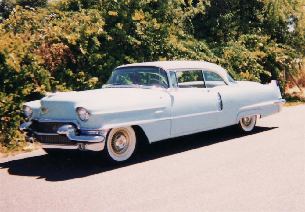 1956 CADILLAC SERIES 62 2 DOOR COUPE - Front 3/4 - 61470