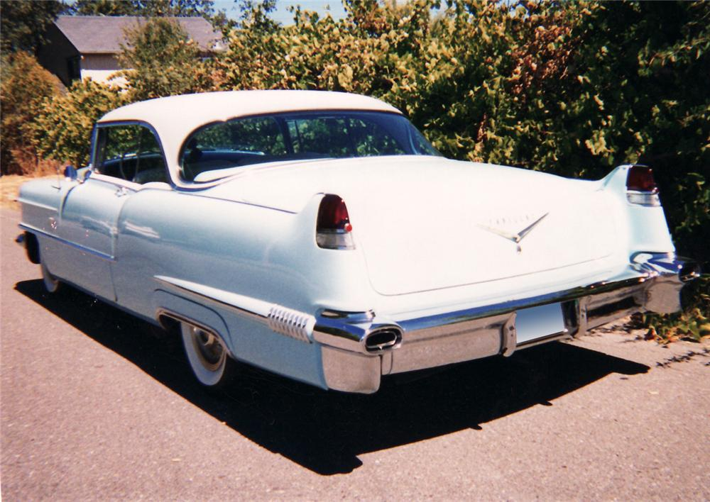 1956 CADILLAC SERIES 62 2 DOOR COUPE - Rear 3/4 - 61470