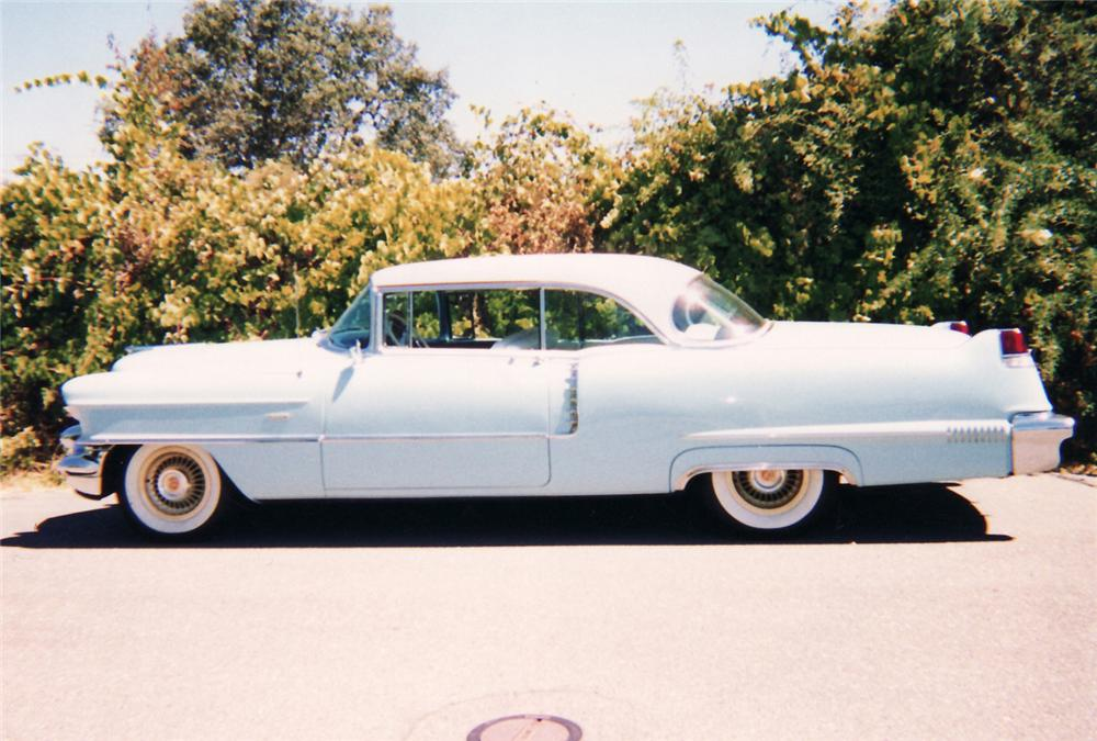 1956 CADILLAC SERIES 62 2 DOOR COUPE - Side Profile - 61470