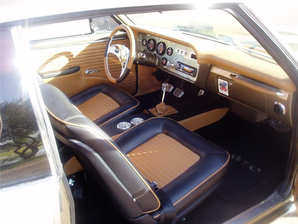 1966 PONTIAC GTO 2 DOOR CUSTOM COUPE - Interior - 61475